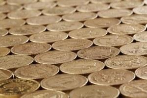 Gold bullion valuable coins