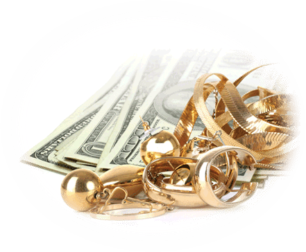 Pawn Jewelry for cash in hand at Oro Express Mesa Pawn and Gold
