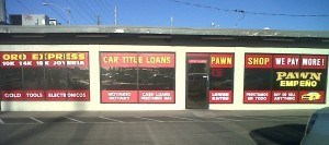 Front View of Oro Express Mesa, the Best Pawn Shop in Mesa!